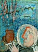 Mečíky, 2010, olej na plátně, 80 x 60 cm