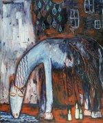 (English) Pegas, 2010, olej na plátně, 120 x 100 cm Pegasus, 2010, oil on canvas, 120 x 100 cm