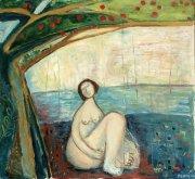 Třešeň, 2010, olej na plátně, 110 x 120 cm