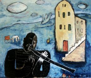 Old song, 2004, Oil on canvas, 120 x 140 cm
