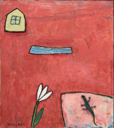 Easter, 2007 oil on canvas, 90 x 80 cm