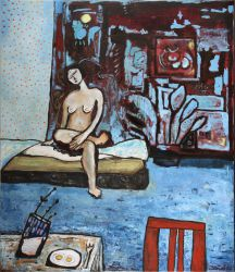 Morning , 2007, oil on canvas, 150 x 120 cm