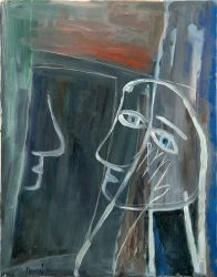 Window, 2010, oil on canvas, 70 x 55 cm