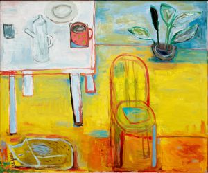 Chair, 2011, oil on canvas, 100 x 120 cm
